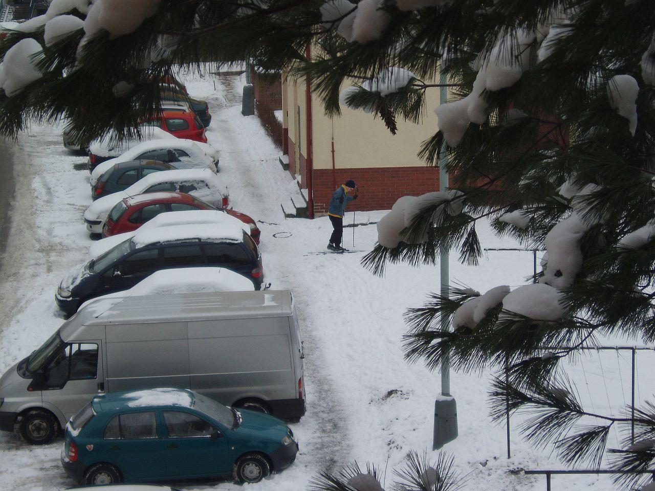 Když nasněží, běžkovat se dá i v Praze