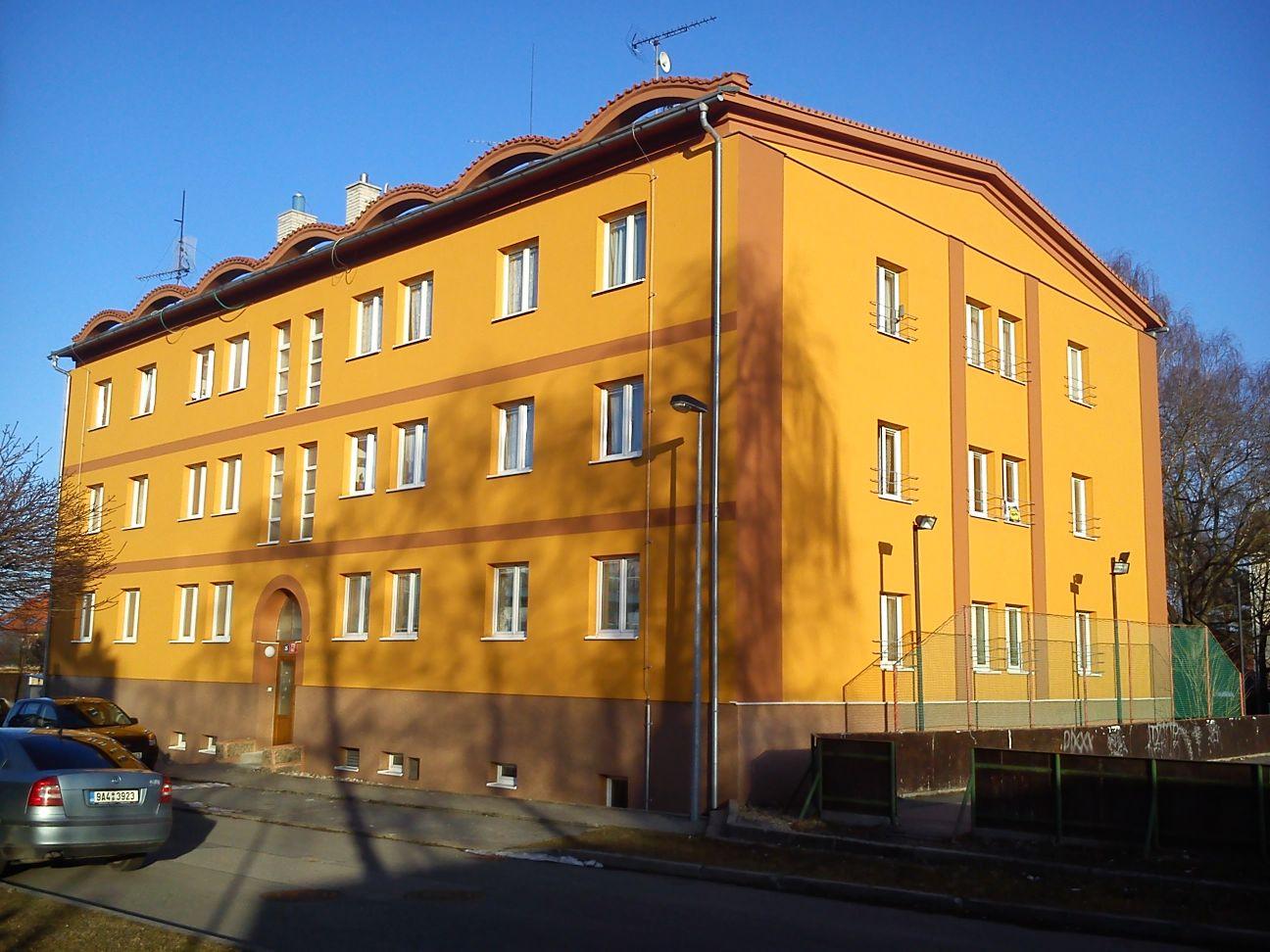 První panelák v Praze