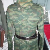 Historické muzeum, uniforma dnešní ruské armády