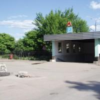 Vchod do stanice metra Avtozavodskaja