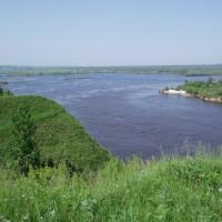 Pavlovo, záhyb řeky Oky