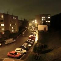 Město ve tmě