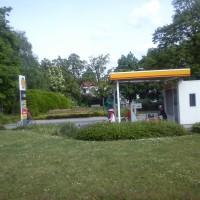 Benzinová pumpa na dopravním hřišti