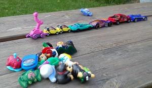 Hračky na dovolenou pro děti