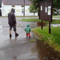 Prší, je třeba jít ven!