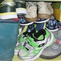 Zásoby bot větší než v obuvi na Ládví...
