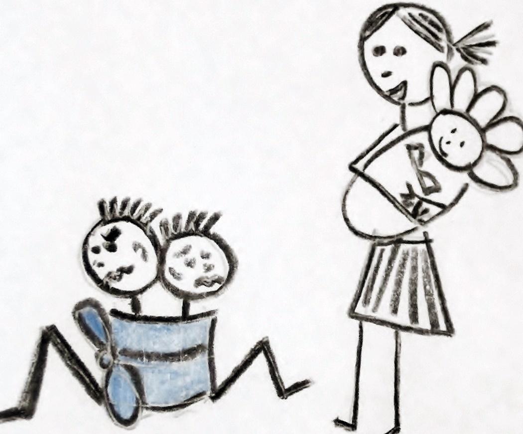 Úvaz vhodný pro matku třech dětí