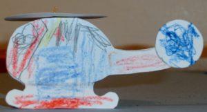 Papírový vrtulník