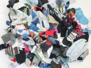 Liché ponožky. Ne, to nejsou všechny, pokud se ptáte...