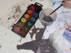 Maminko, my jsme Ti namalovali obrázek!