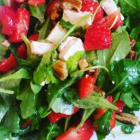 Salát z jahod