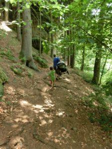 Peklo - ideální cesta pro kočárek