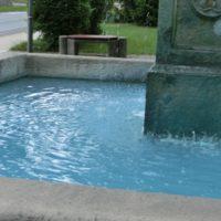 Modrá voda Žandov