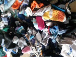 Hromada ponožek