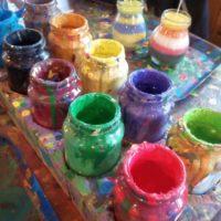 Malování skleniček