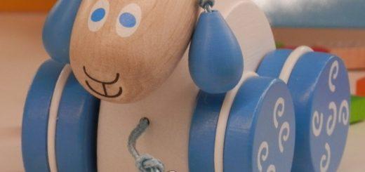 Dřevěná hračka z Česka