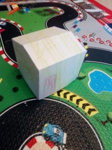 Papírový model domečku