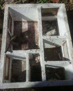 Vnitřek domečku před rekonstrukcí