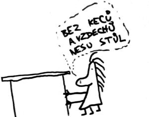 Hausfrau občas potřebuje obrázkový návod...