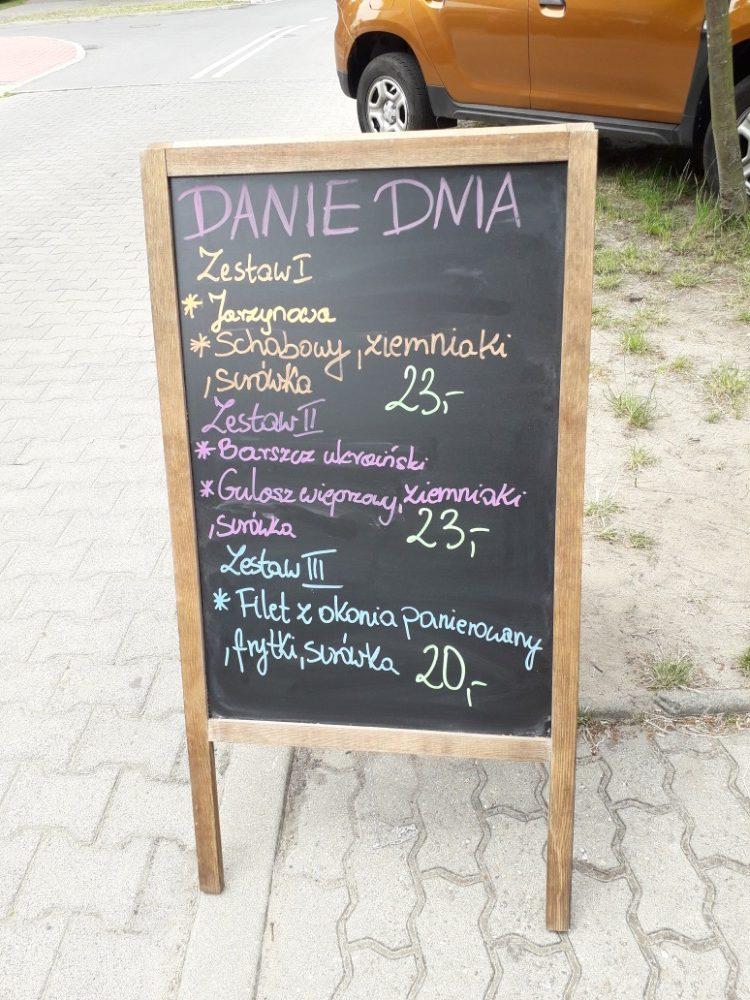 Ceny jídel Dziwnów 2019