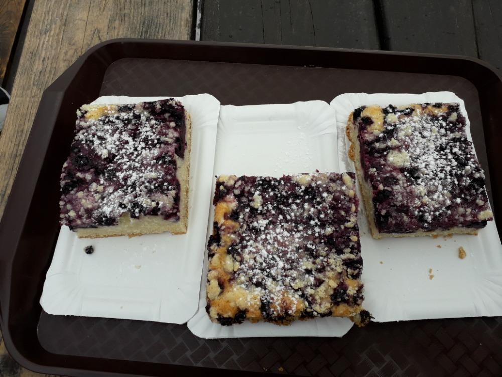 Severák - borůvkový koláč