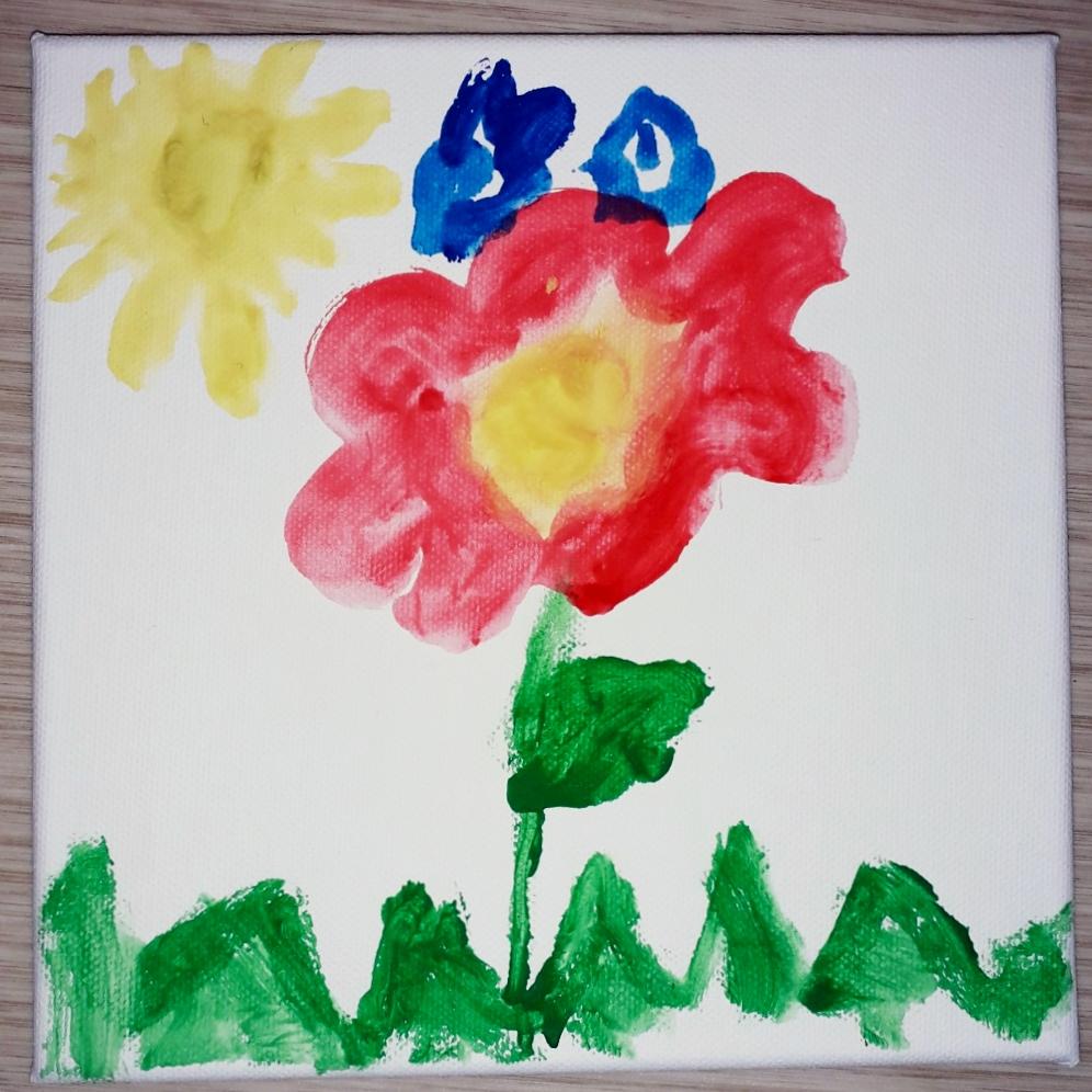 Malování na plátno s dětmi